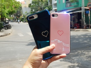 Ốp hình trái tim iPhone 6S Plus
